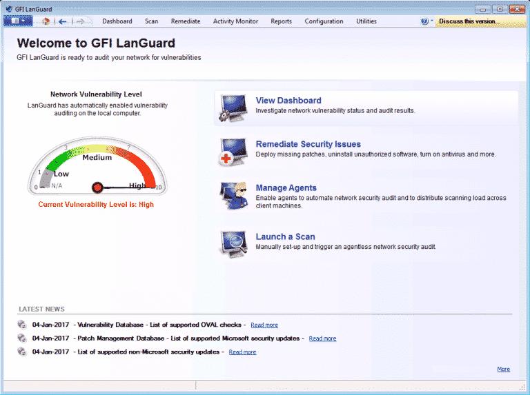 GFI partner in Pakistan. GFI LanGuard